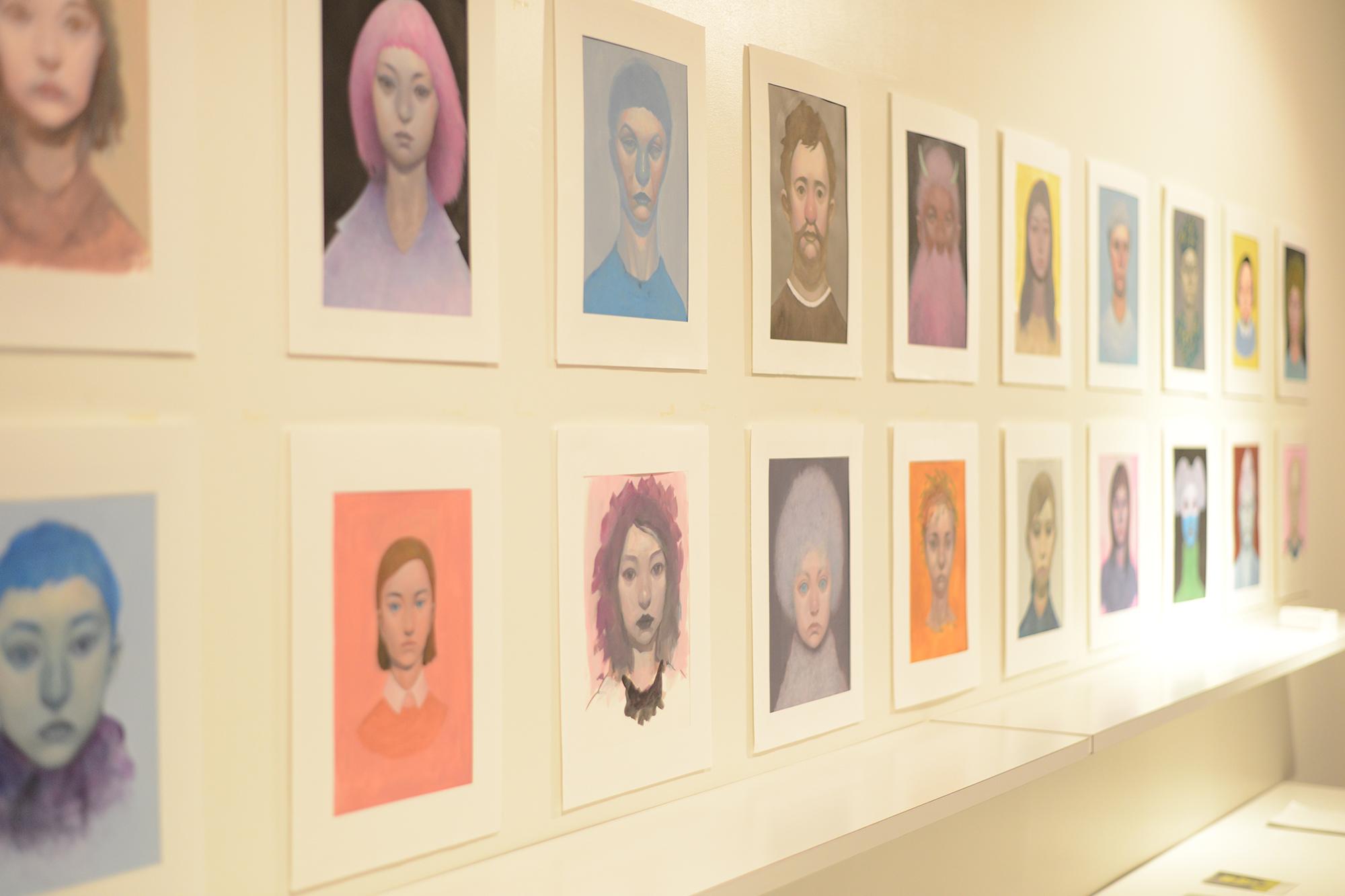 06: psychological portrait -taizo kuwahata exhibition-